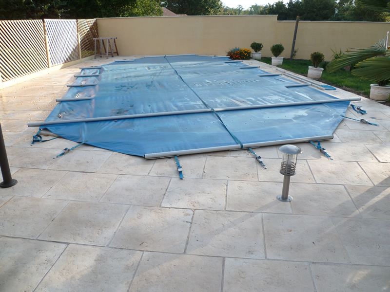 B ches de s curit barres aquagr ment laurent matras for Bache piscine securite