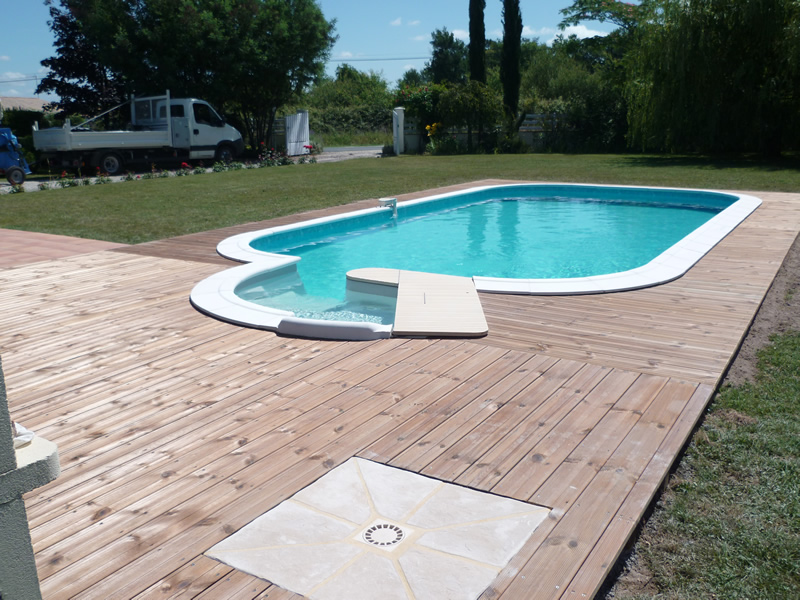 Emb llissement aquagr ment laurent matras for Piscine bois 9x4
